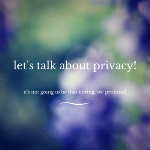 Friends and Privacy