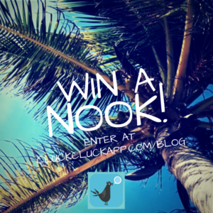 Win a Nook GlowLight from CluckCluck App!