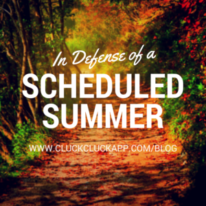 In Defense of a Scheduled Summer