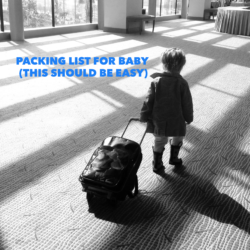 Packing List for Baby