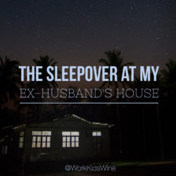 Divorced Parenting: The Sleepover at My Ex-Husband's House