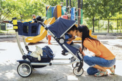 Meet the Mom Reinventing Baby Gear: Leslie Stiba of Austlen