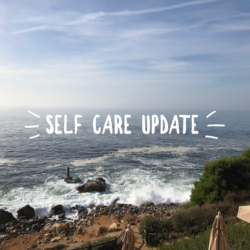 Self-Care Update. Some Good Stuff, Some Fails.